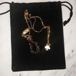 Kate Spade necklace - mother of pearl pendant